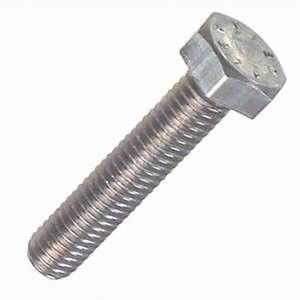 DIN912 Half Thread Heavy Hex Structural Bolt , Stainless Steel Hex Head Bolts